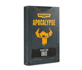 Apocalypse Orks Datasheet Cards