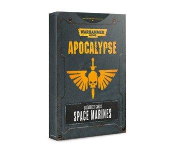 Apocalypse Space Marines Datasheet Cards