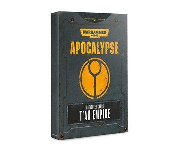 Apocalypse Tau Empire Datasheet Cards