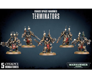 Chaos Space Marines Terminators Squad