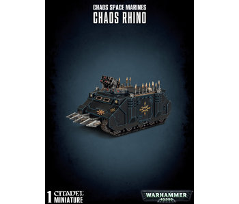 Chaos Space Marines Rhino Tank