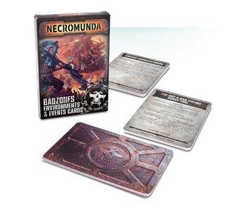 Necromunda Badzones Environments And Events Cards