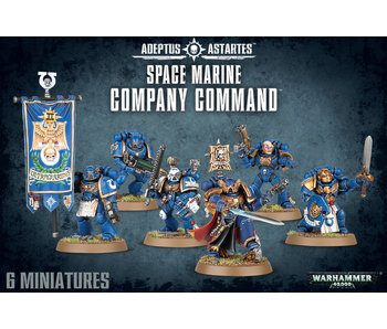 Space Marines Company Command