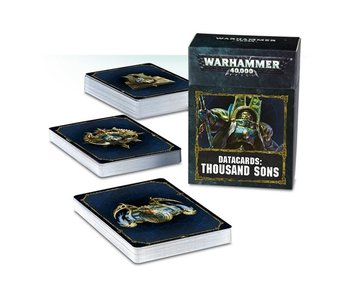 Thousand Sons Datacards