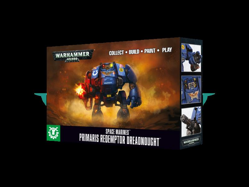 Games Workshop Primaris Redemptor Dreadnought Easy to Build