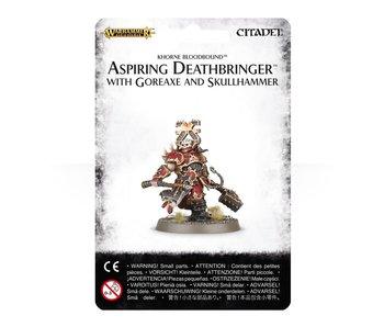 Aspiring Deathbringer with Goreaxe
