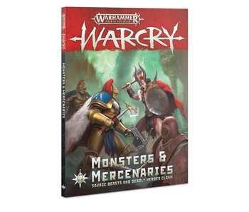 Warcry - Monstres & Mercenaires Book (French)