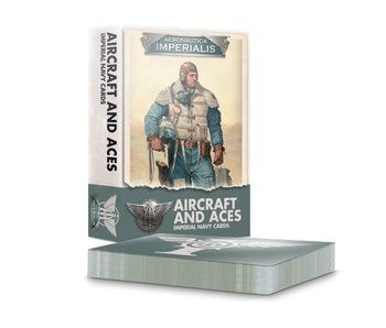 Aeronautica Imperialis - Aircraft and Aces Imperial Navy Cards