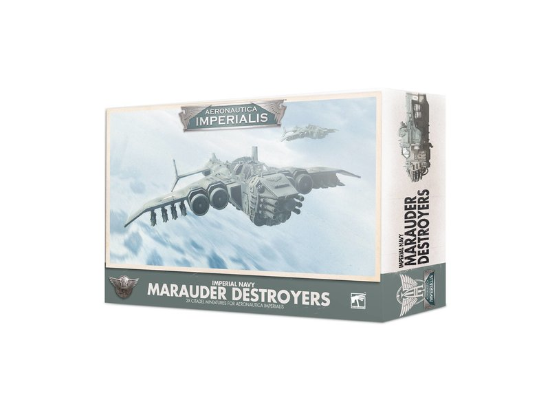 Games Workshop Aeronautica Imperialis - Imperial Navy Marauder Destroyers