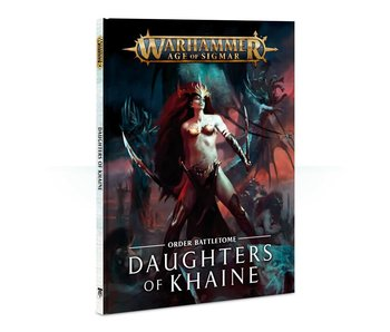 Daughters of Khaine Battletome Book