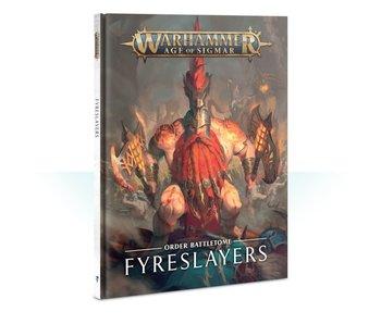 Fyreslayers Battletome Book