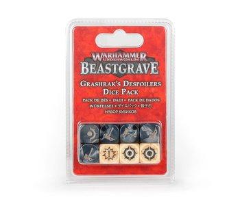 WHU Beastgrave - Grashrak's Despoilers Dice Pack