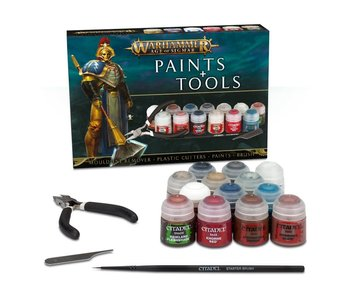 Stormcast Eternals Paints + Tools