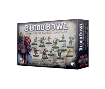 Blood Bowl Gwaka'moli Crater Gators Lizardmen Team