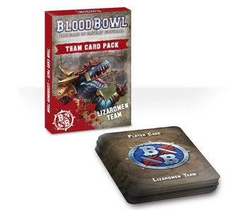 Blood Bowl Lizardmen Team Card Pack