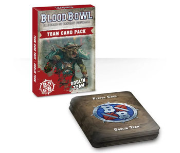 Blood Bowl Goblin Team Card Pack