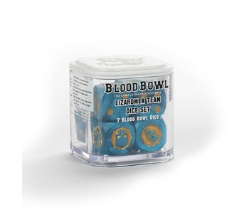 Blood Bowl Lizardmen Team Dice Set