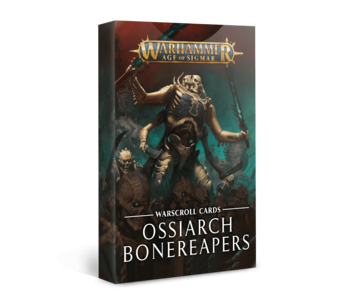 Warscroll Cards - Ossiarch Bonereapers