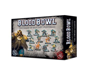 Blood Bowl The dwarf Giants Team