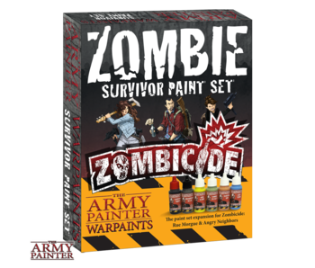Warpaints - Zombie Survivor Paints Set