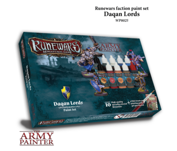 Runewars Daqan Lords Paint Set