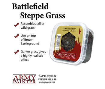 Battlefield Static Steppe Grass
