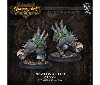 Cryx Nightwretch Bone Jacks (Plastic)