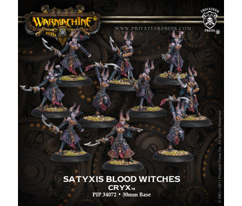 Cryx Satyxis Blood Witches Unit