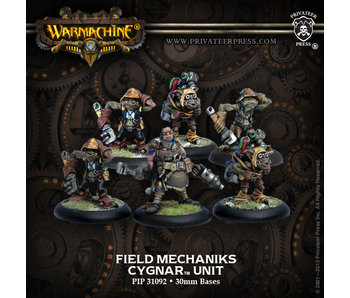 Cygnar Field Mechaniks Unit