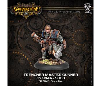 Cygnar Trencher Master Gunner Solo