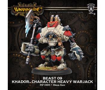 Khador Beast-09 Character Heavy Warjack