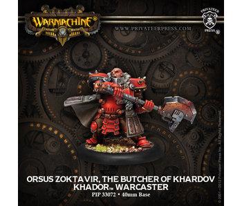 Khador Butcher Of Khardov Warcaster