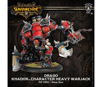 Khador Drago Character Heavy Warjack