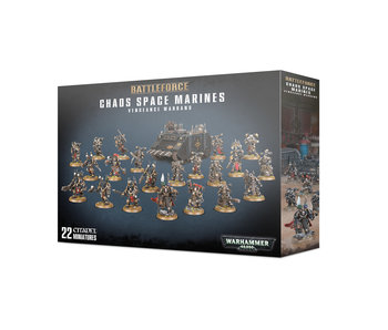 Chaos Space Marines Vengeance Warband Battleforce