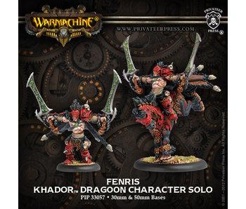Khador Fenris Character Dragoon Box