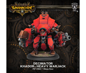 Khador Heavy Warjack Decimator / Destroyer /Juggernaut / Marauder