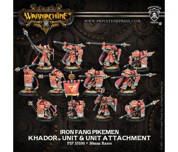 Khador Iron Fang Pikemen/Black Dragons (10+2)
