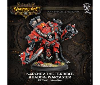 Khador Karchev The Terrible Warcaster