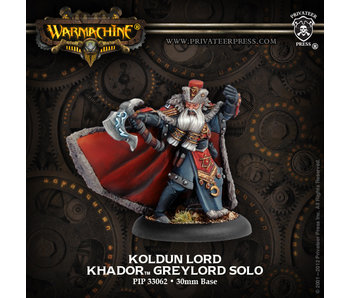 Khador Koldun Lord Greylord Solo - PIP 33062