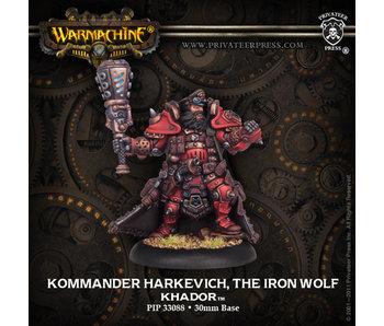 Khador Komm Harkevich, Iron Wolf Warcaster