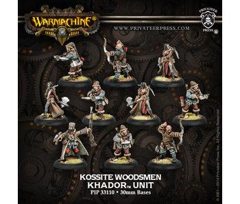 Khador Kossite Woodsmen (10) Unit - PIP 33110