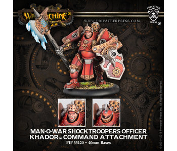 Khador Man-O-War Shocktrooper Command Attachment
