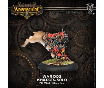 Khador War Dog Warcaster Attachment - PIP 33060