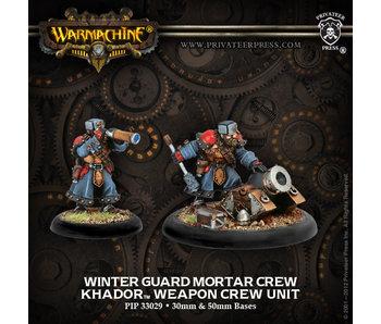 Khador Winterguard Mortar