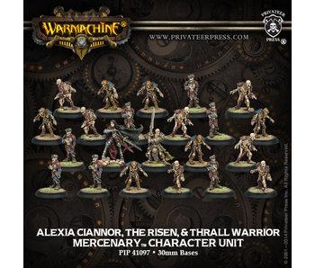 Mercenary Alexia Ciannor The Risen & Thrall Character Unit