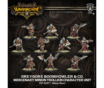 Mercenary Boomhowler & Co Trollkin Unit