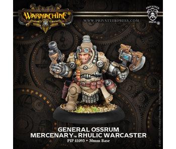 Mercenary General Ossrum Rhulic Warcaster
