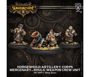 Mercenary Horgenhold Artillery Corps Crew