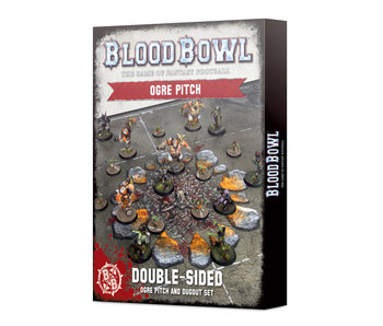 Blood Bowl - Ogre Team Pitch & Dugouts (PRE-ORDER)