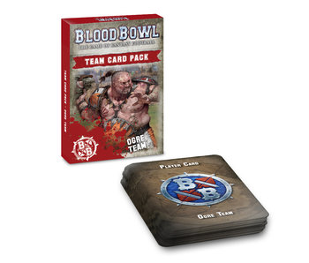 Blood Bowl - Ogre Team Card Pack (English) (PRE-ORDER)